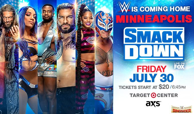 WWE FRIDAY NIGHT SMACKDOWN tickets at Target Center in Minneapolis