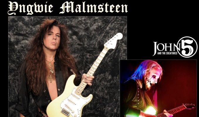 Yngwie Malmsteen + John 5 tickets at The National in Richmond