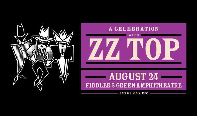 ZZ Top tickets at Fiddler's Green Amphitheatre in Greenwood Village