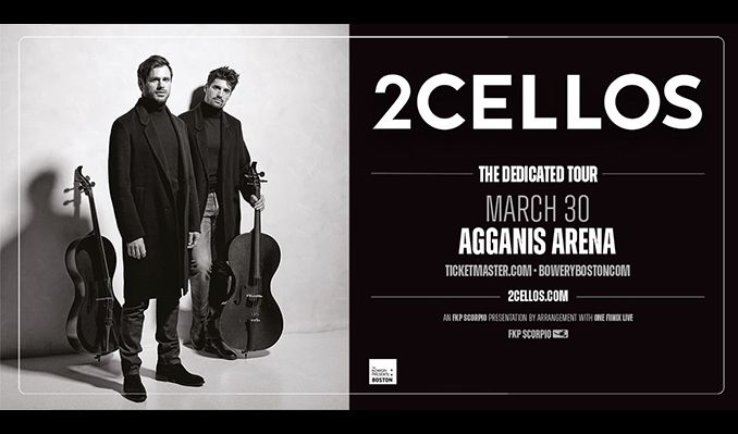 2CELLOS tickets at Agganis Arena in Boston