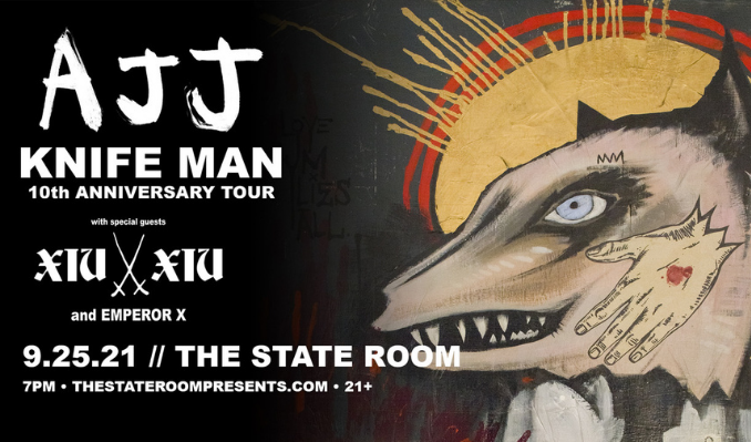 AJJ tickets at The State Room in Salt Lake City