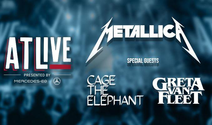 ATLive: Metallica tickets at Mercedes-Benz Stadium in Atlanta
