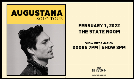 Augustana tickets at The State Room in Salt Lake City