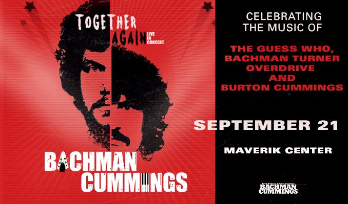 Bachman/Cummings Together Again tickets at Maverik Center in Salt Lake City