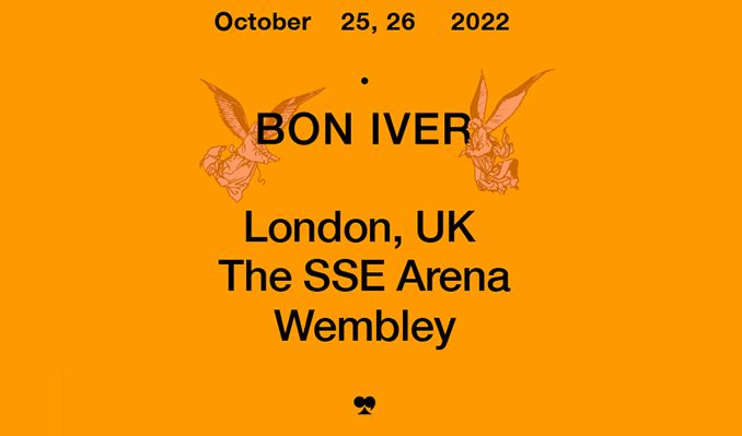 Bon Iver - RESCHEDULED tickets at The SSE Arena, Wembley in London