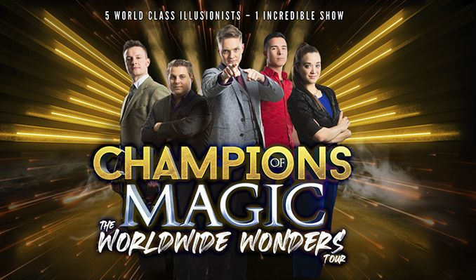Champions of Magic tickets at The Cambridge Corn Exchange in Cambridge