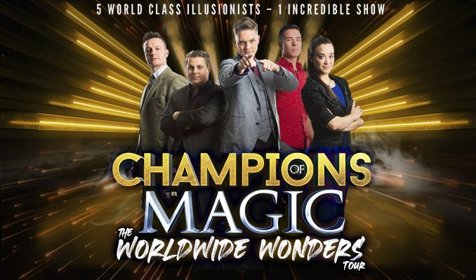 Champions of Magic tickets at Au-Rene Theater at Broward Center For The Performing Arts in Fort Lauderdale