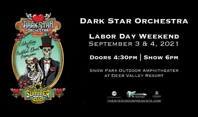 Dark Star Orchestra tickets at Snow Park Outdoor Amphitheater at Deer Valley Resort in Park City