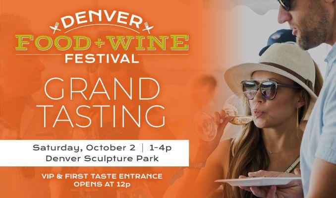Denver Food + Wine Festival tickets at Sculpture Park in Denver