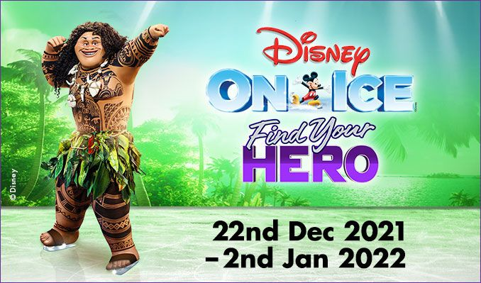 Disney On Ice presents Find Your Hero tickets at The O2, London