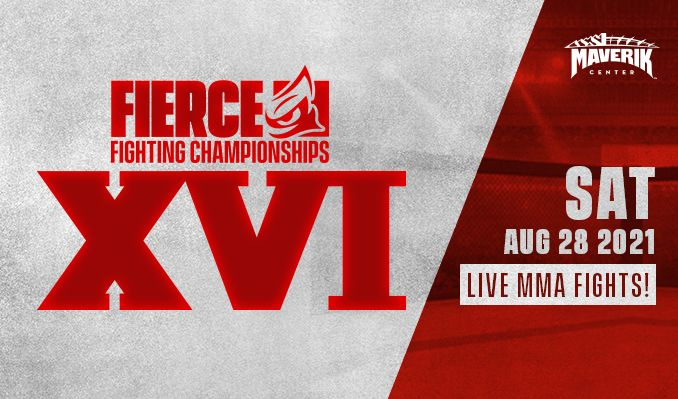 Fierce Fighting Championship XVI tickets at Maverik Center in Salt Lake City