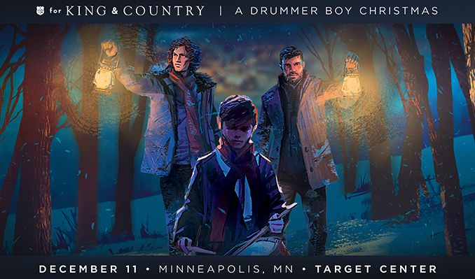 for KING & COUNTRY tickets at Target Center in Minneapolis