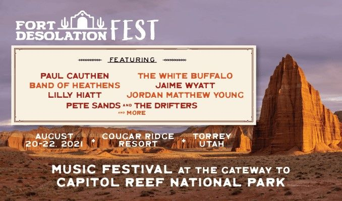 Fort Desolation Fest tickets at Cougar Ridge Resort in Torrey