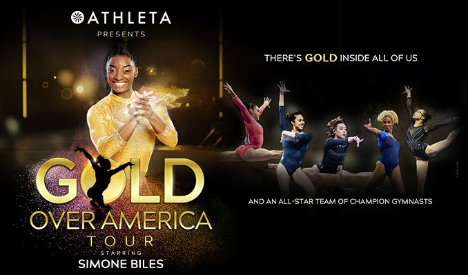 Gold Over America Tour Starring Simone Biles tickets at Target Center in Minneapolis