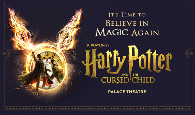 Harry Potter and the Cursed Child tickets at Palace Theatre, London