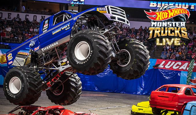 Hot Wheels Monster Trucks Live tickets at Pechanga Arena San Diego in San Diego