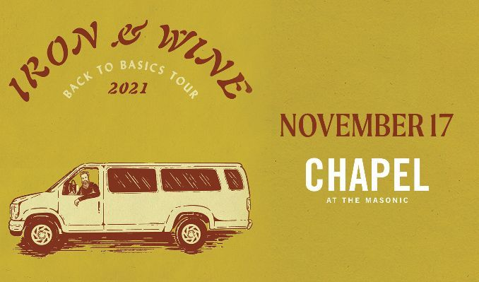 Iron & Wine tickets at The Chapel at the Masonic Temple Detroit in Detroit