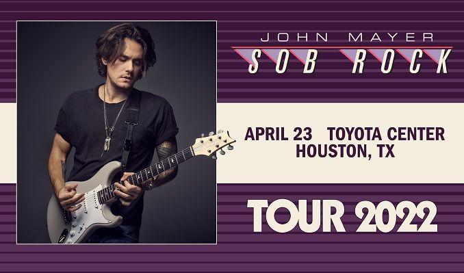 John Mayer  tickets at Toyota Center in Houston