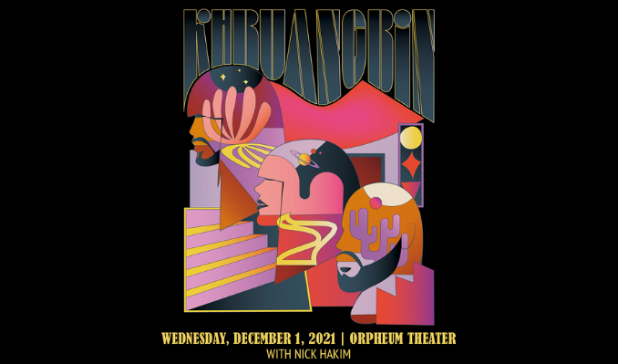 Khruangbin tickets at Orpheum Theater in New Orleans