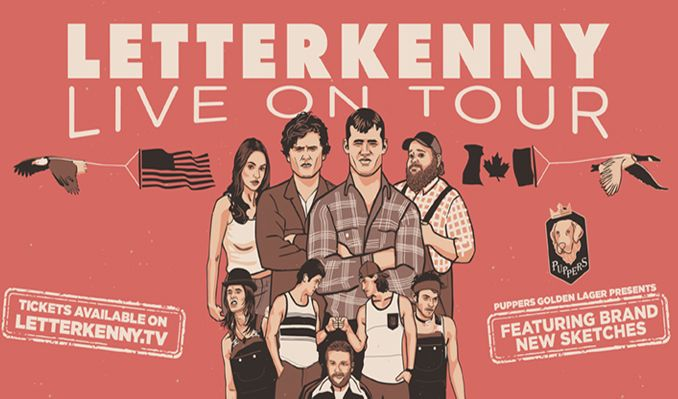 LETTERKENNY LIVE! tickets at The Theatre at Ace Hotel in Los Angeles