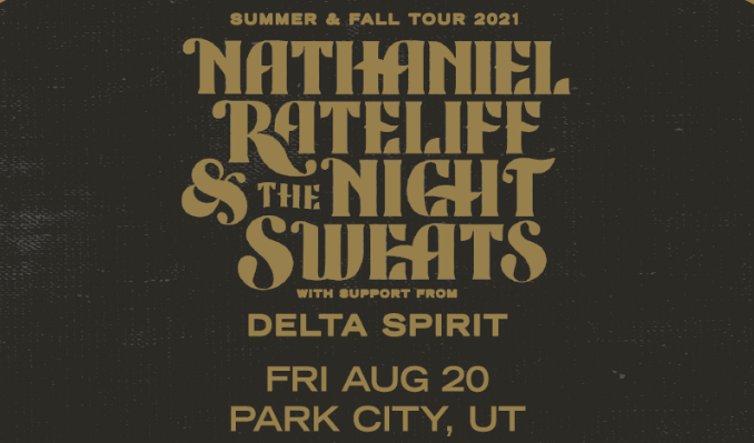 Nathaniel Rateliff & The Night Sweats tickets at Snow Park Outdoor Amphitheater at Deer Valley Resort in Park City