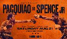 Pacquiao vs Spence tickets at T-Mobile Arena in Las Vegas