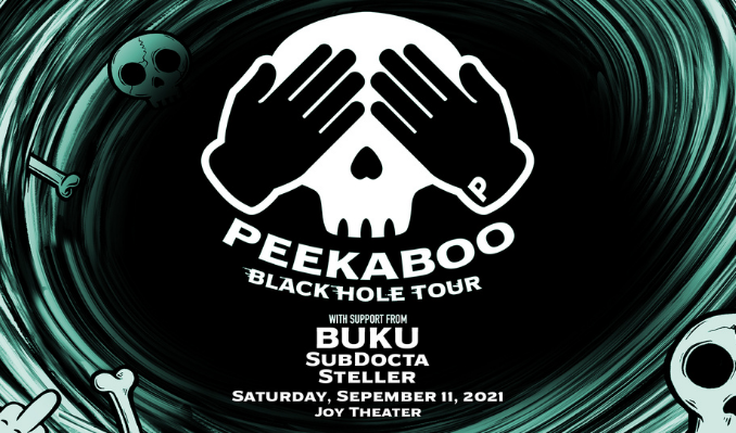 Peekaboo: Black Hole Tour tickets at Joy Theater in New Orleans
