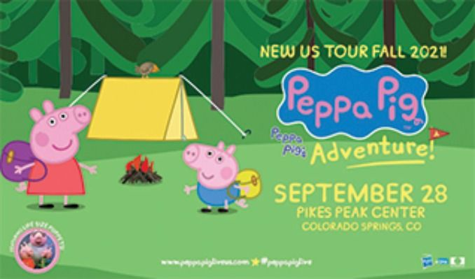 Peppa Pig's Adventure tickets at Pikes Peak Center in Colorado Springs