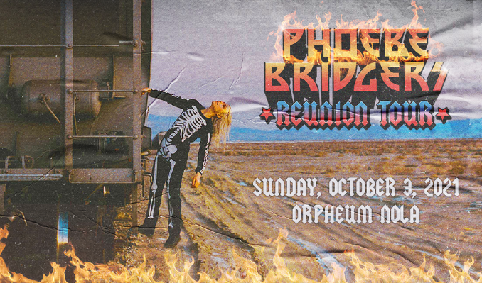 Phoebe Bridgers tickets at Orpheum Theater in New Orleans