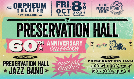 Preservation Hall Jazz Band tickets at Orpheum Theater in New Orleans