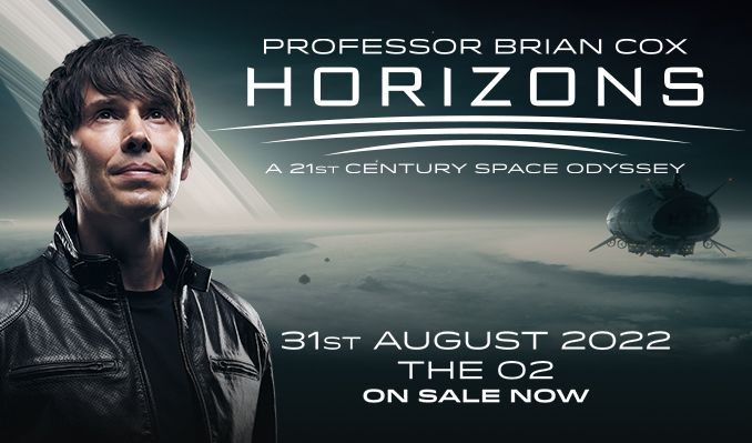 Professor Brian Cox - RESCHEDULED tickets at The O2 in London