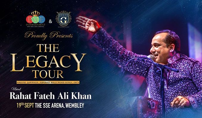 Rahat Fateh Ali Khan tickets at The SSE Arena, Wembley in London