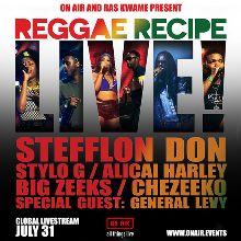 Ras Kwame's Reggae Recipe