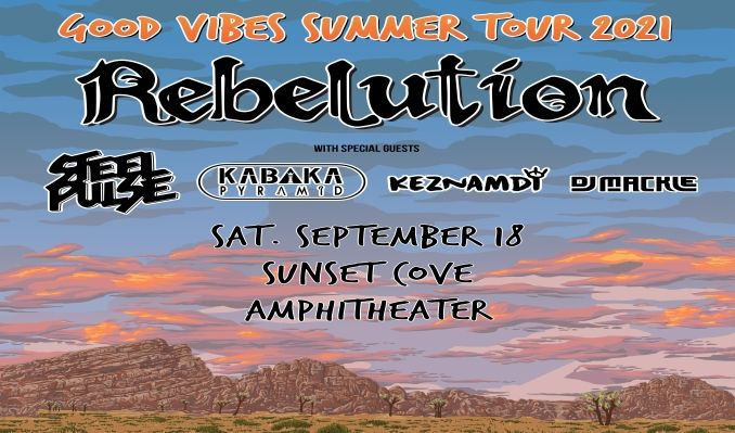 Rebelution tickets at Sunset Cove Amphitheater in Boca Raton