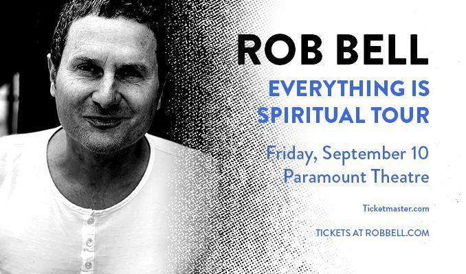 Rob Bell tickets at Paramount Theatre in Denver