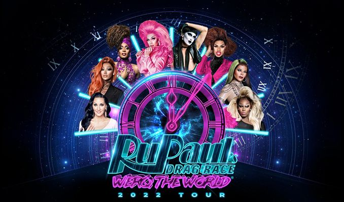 RuPaul's Drag Race: Werq the World Tour - RESCHEDULED tickets at The SSE Arena, Wembley in London