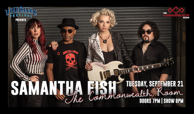 Samantha Fish tickets at The Commonwealth Room in South Salt Lake