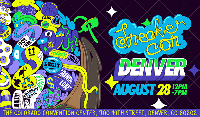 Sneaker Con tickets at Colorado Convention Center in Denver