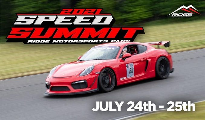 Speed Summit-2 Day GA tickets at Ridge Motorsports Park in Shelton