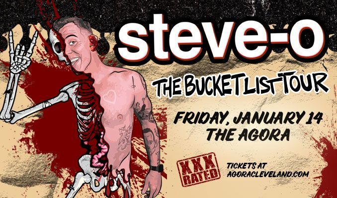 Steve-O tickets at Agora Theatre in Cleveland