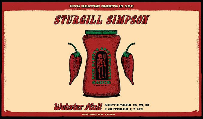 Sturgill Simpson tickets at Webster Hall in New York