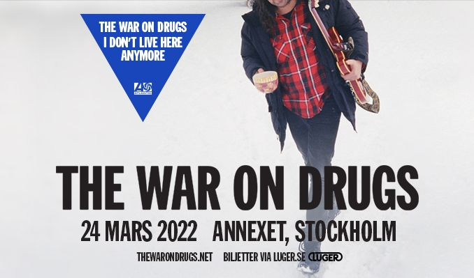 The War On Drugs tickets at Annexet in Stockholm