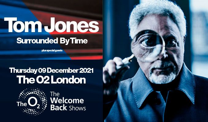 Tom Jones tickets at The O2 in London