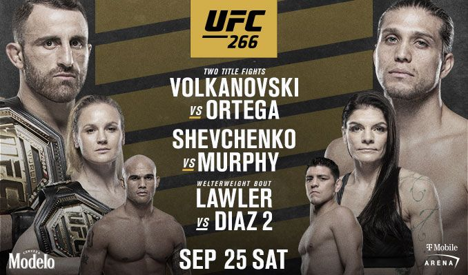 UFC 266 tickets at T-Mobile Arena in Las Vegas