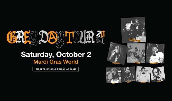 $UICIDEBOY$ tickets at Mardi Gras World in New Orleans