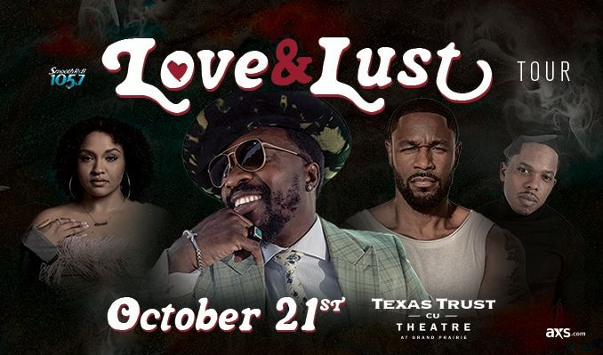 Anthony Hamilton  tickets at Texas Trust CU Theatre in Grand Prairie