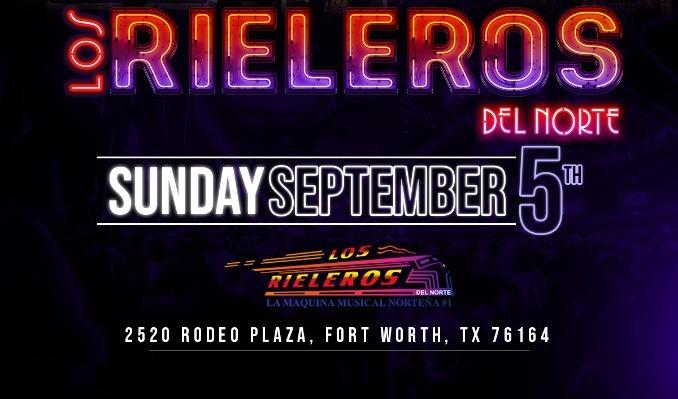 Los Rieleros del Norte tickets at Billy Bob's Texas in Fort Worth