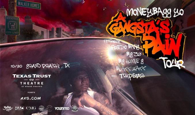 Moneybagg Yo tickets at Texas Trust CU Theatre in Grand Prairie