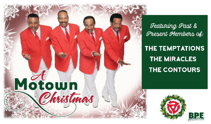 A Motown Christmas tickets at The Riverside Theater in Milwaukee