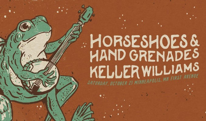 Horseshoes & Hand Grenades and Keller Williams tickets at First Avenue in Minneapolis